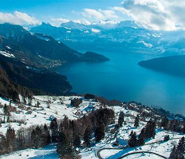 Ville e case in vendita a Canton Svitto (Svizzera)